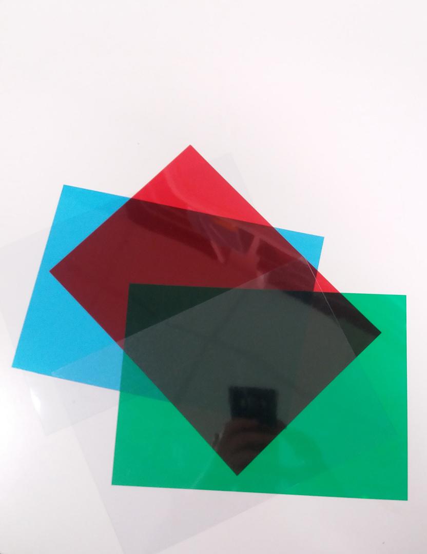 RGB prism materials