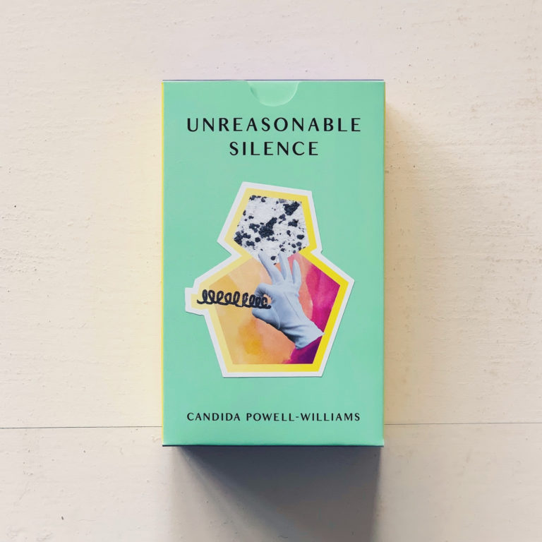 Unreasonable Silence_Candida Powell Williams tarot card image