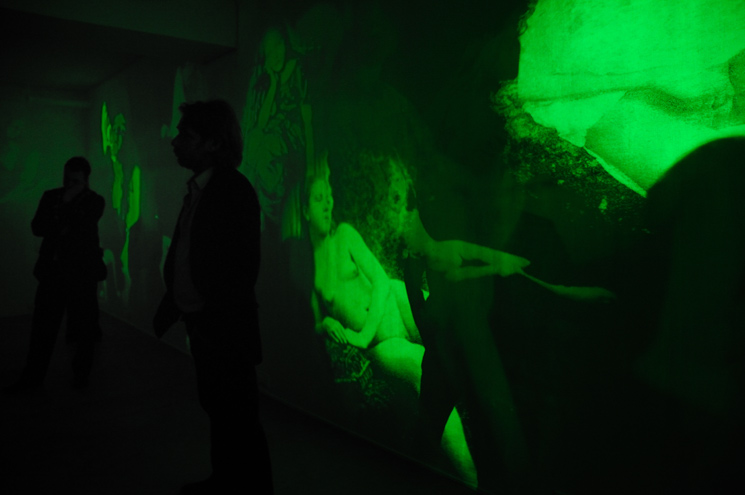 Mat Collishaw install photo_Void Gallery