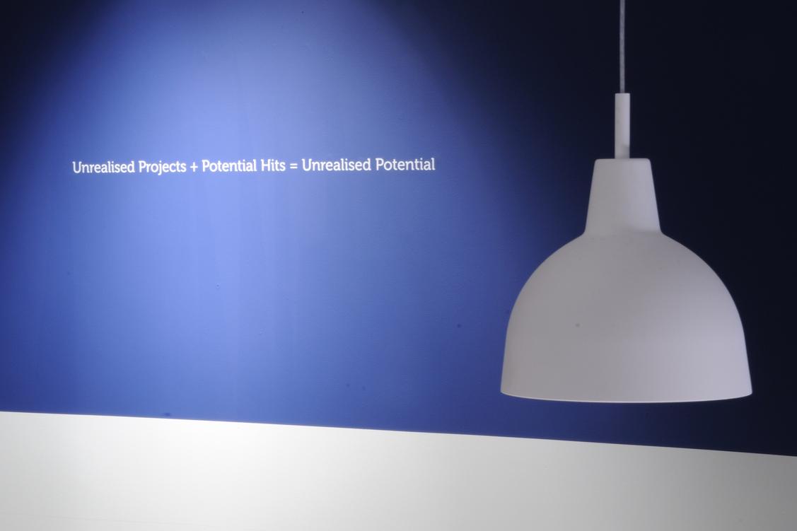 Unrealised Potential installation image