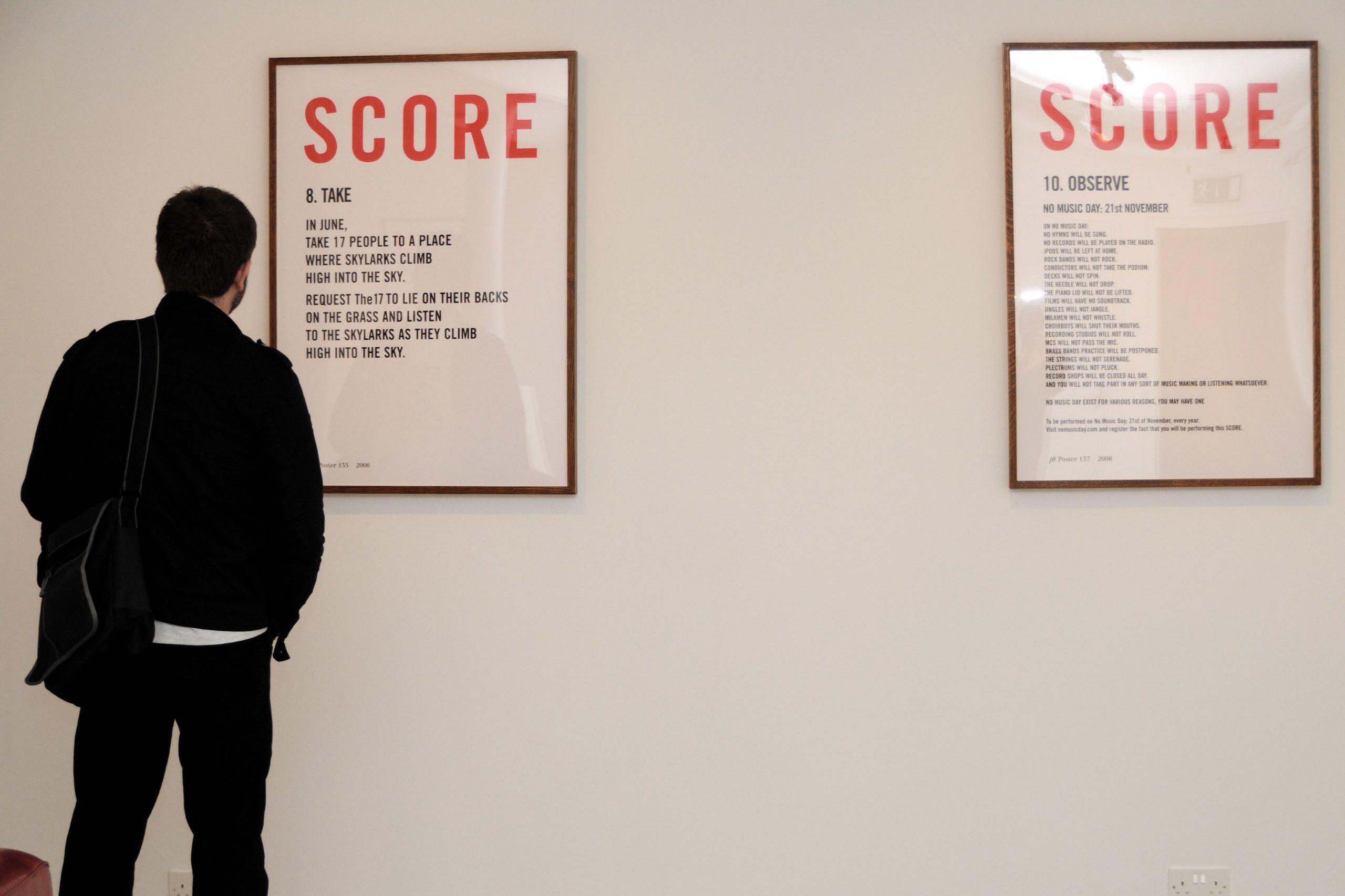 Bill Drummond at Void Installation photos