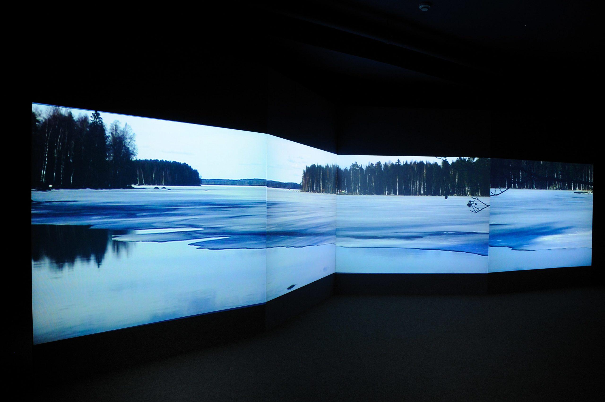 Eija Liisa Ahtila at Void Gallery installation photographs