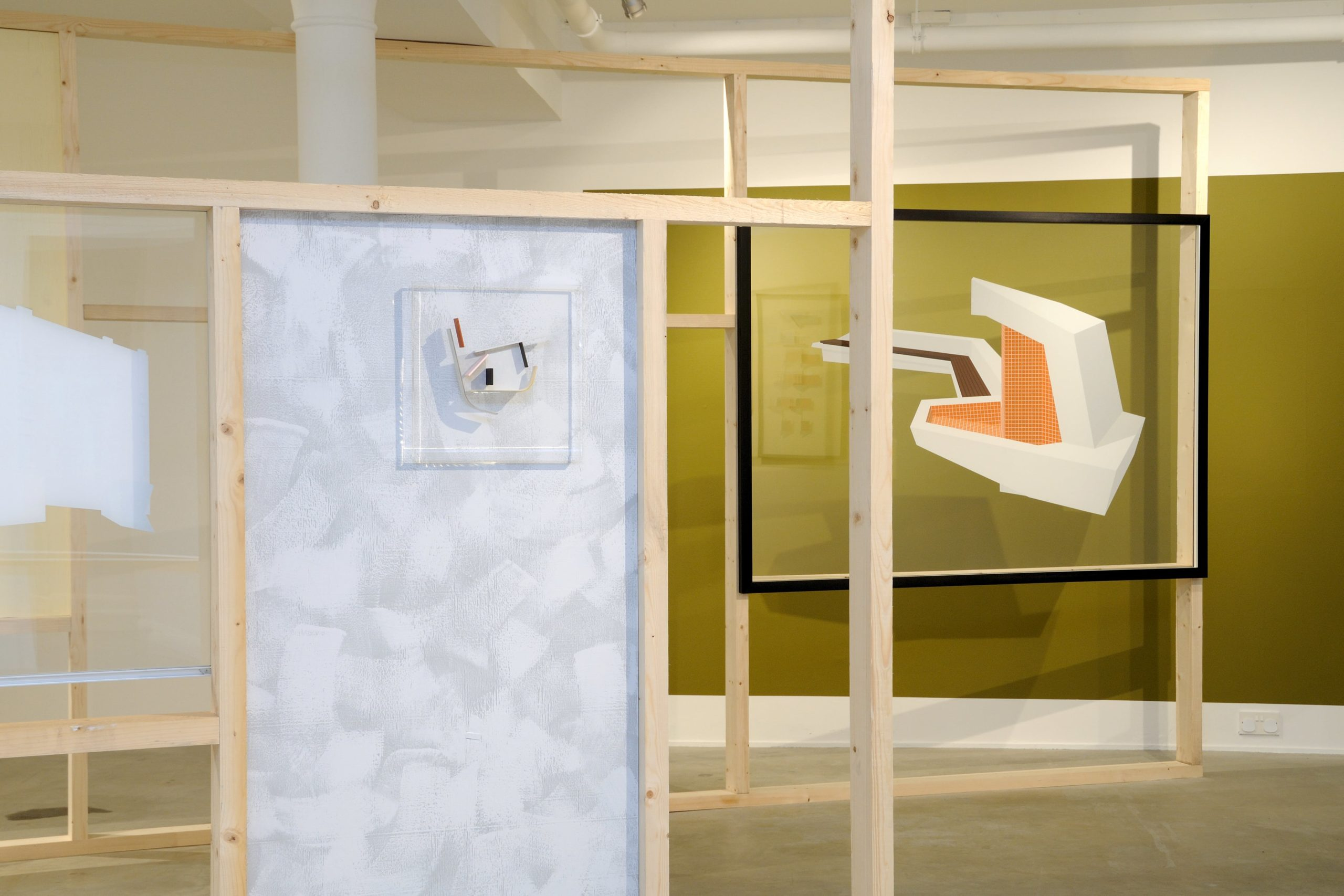 Toby Paterson at Void Gallery installation