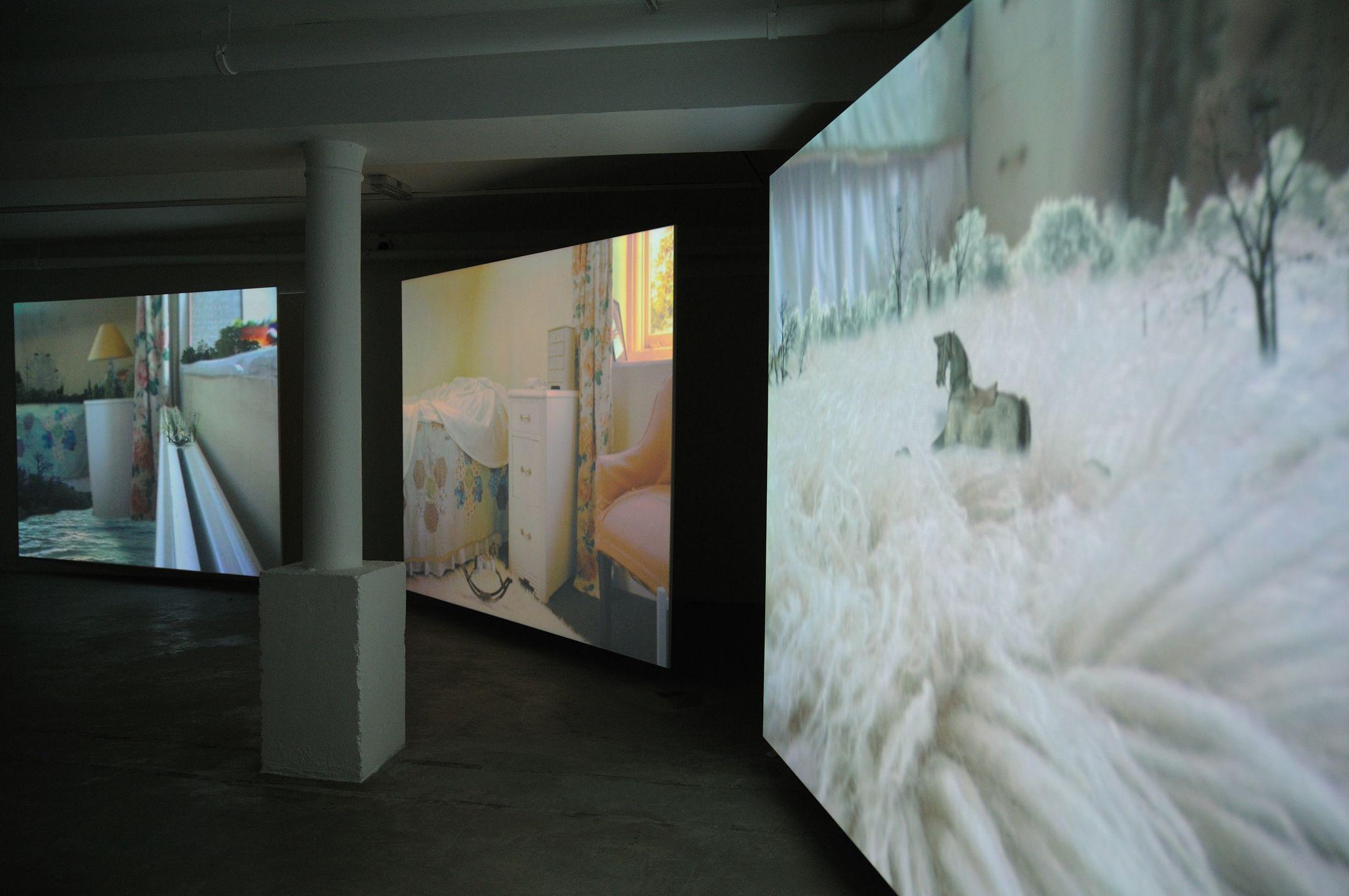 Hiraki Sawa exhibition at Void Gallery in Derry